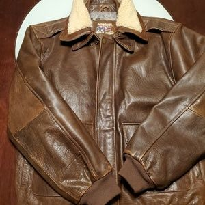 Men's American Hide & Leather Bomber Leather Jacke